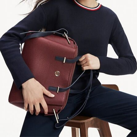 Tommy Hilfiger leather women bag