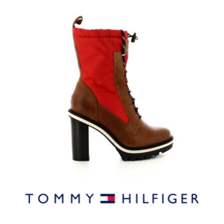Tommy Hilfiger high heel ankle boots