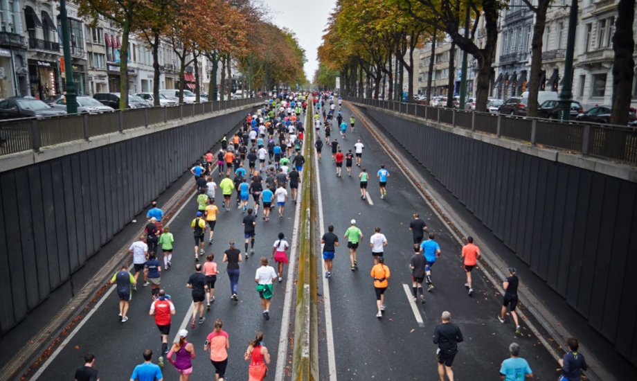 Running is an increasingly popular sport in all weathers