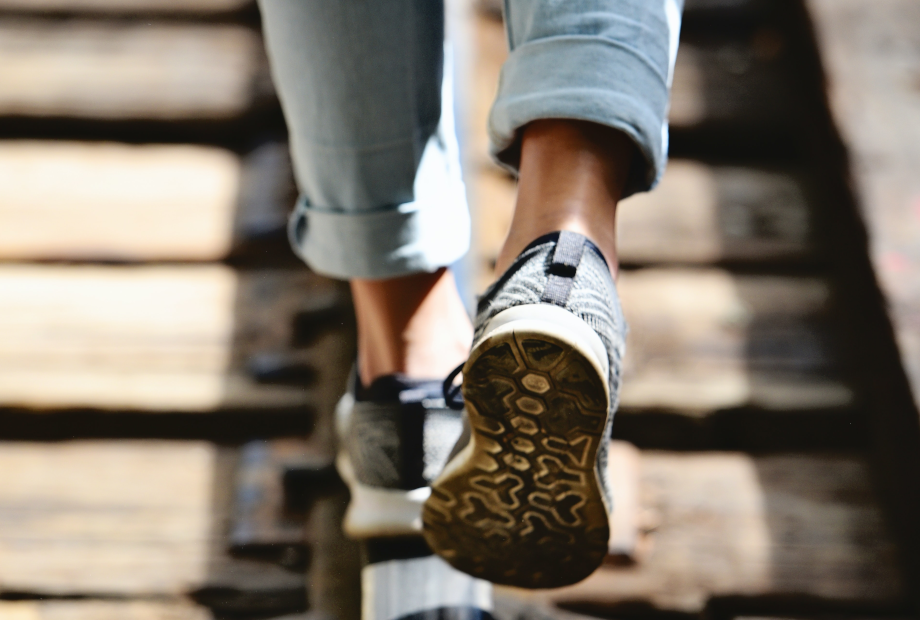 More than 400,000 bacteria are found on footwear on average!