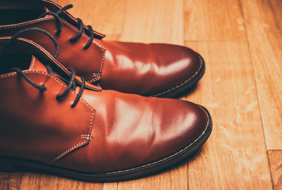 Use appropriate shoe care products to keep them clean.