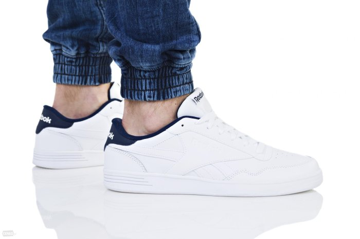 Reebok ROYAL TECHQUE T CP WHITEWHITE NAVY