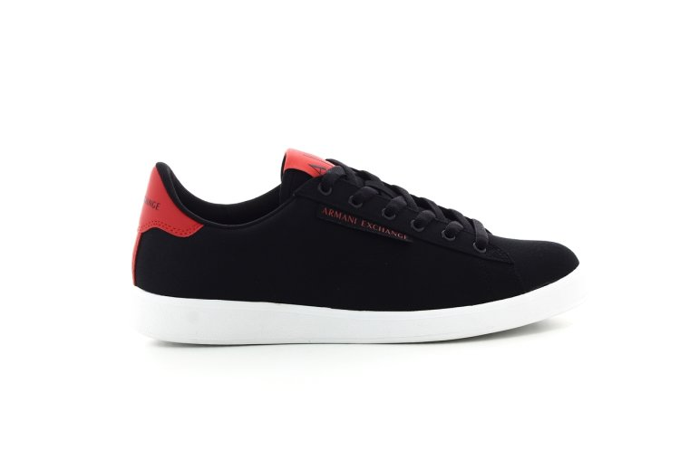 6f2a91ed Armani exchange sneaker BLACK+RED